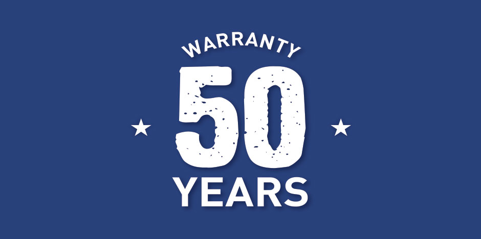 50-Year Fence Warranty