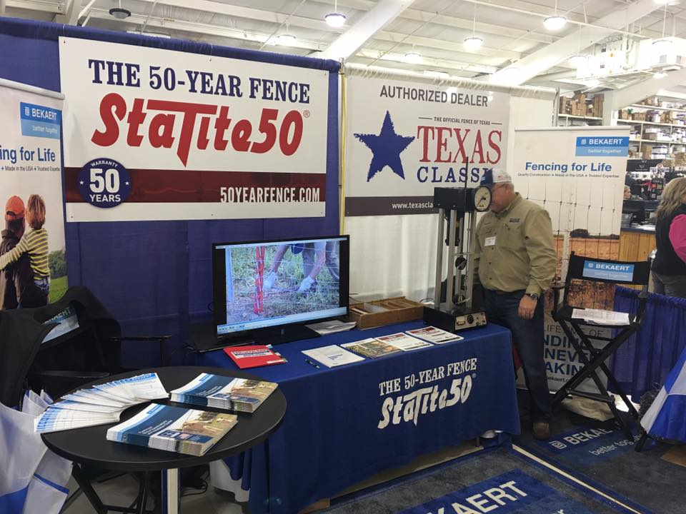 50-Year Fence Trade Show Booth